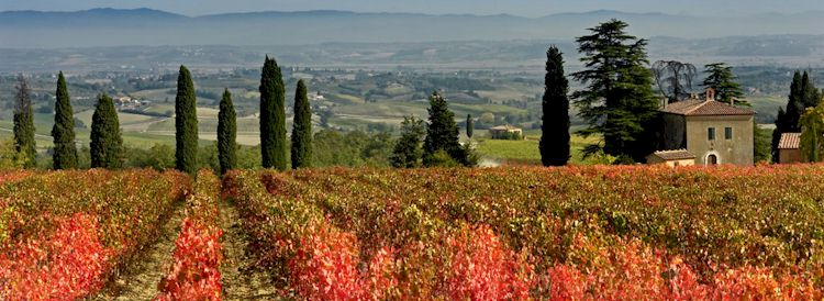 Types of vacation accommodations in Tuscany