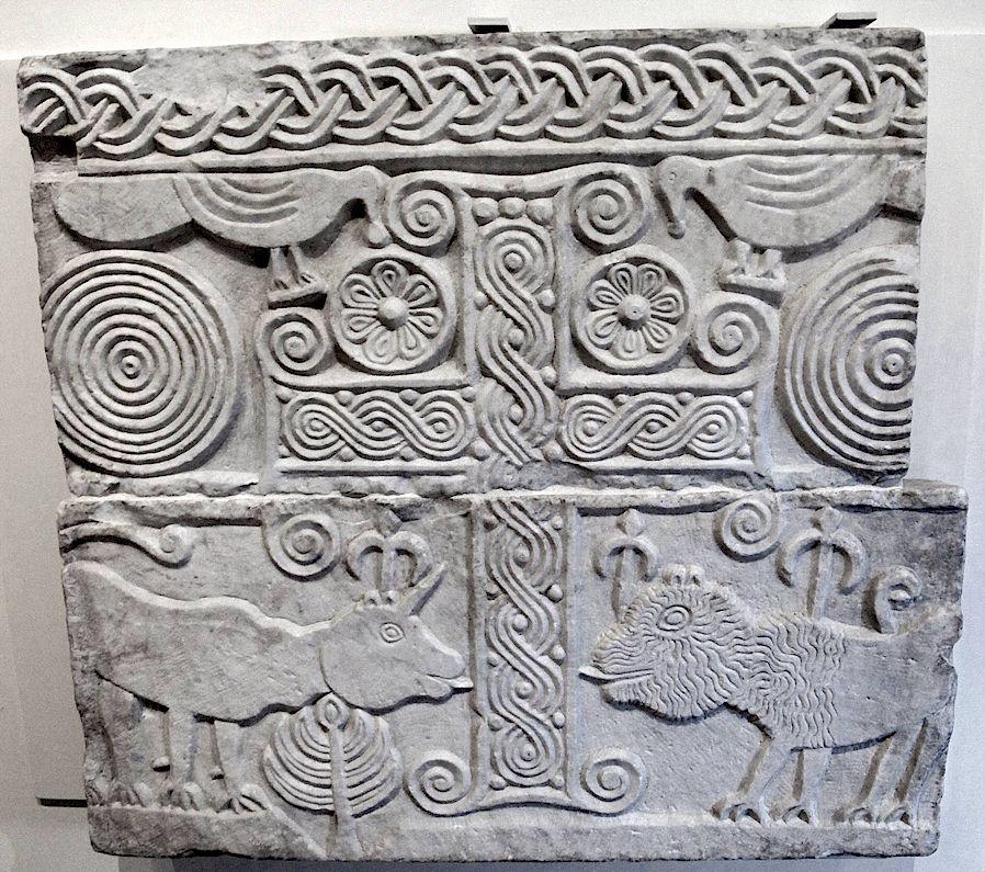 Longobard stone carving