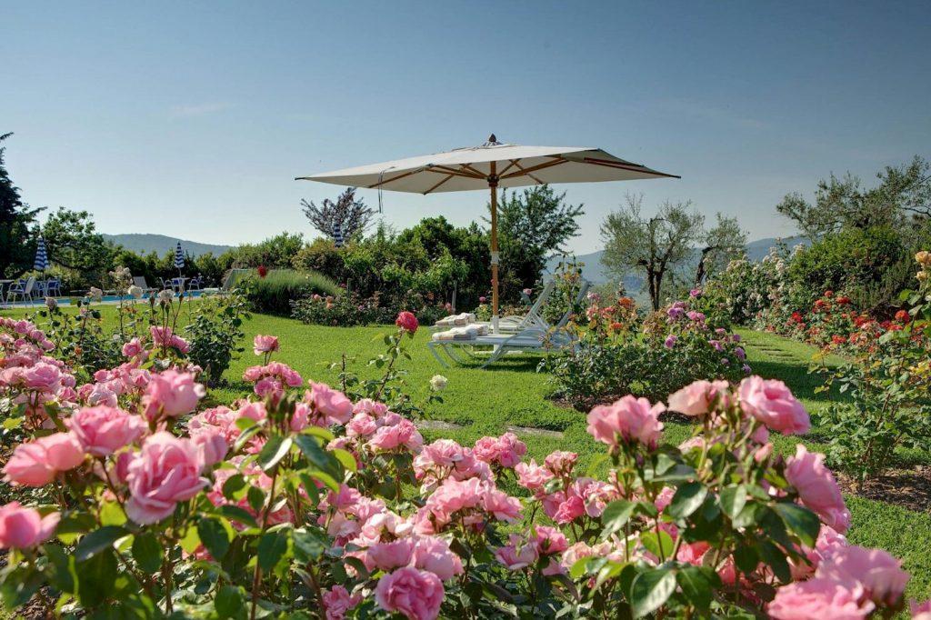 Hotel Villa Le Barone gardens