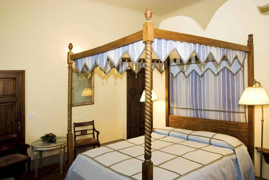 Bed & Breakfast room in the main villa at Corte di Valle, Tuscany