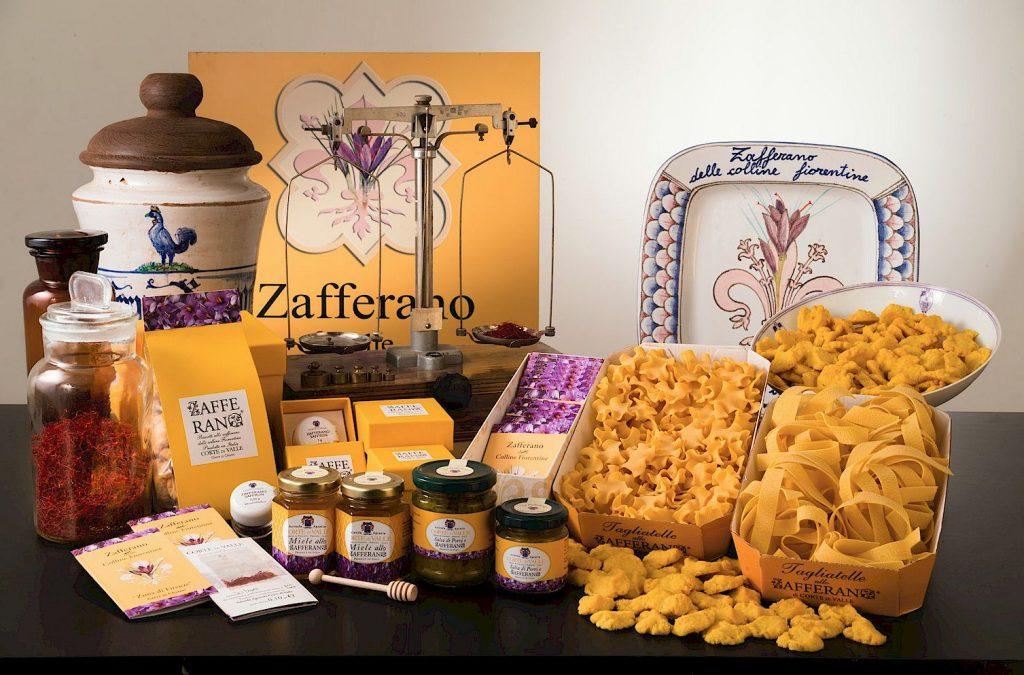 Tuscan saffron from Corte di Valle
