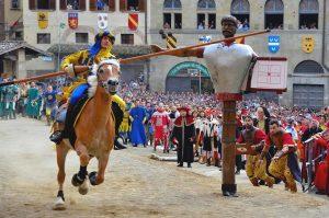 Giostra del Saracino at Arezzo